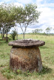 Plain of jars. Big jar in Plain of Jars in Xieng Khouang province, Laos Royalty Free Stock Photo