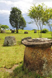 Plain of Jars - Laos. 2012 royalty free stock photo