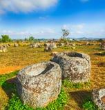 The Plain of jars. Laos. Archaeological landscape The Plain of jars. Laos Stock Images