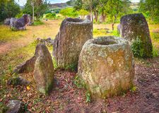 The Plain of jars. Laos Royalty Free Stock Images