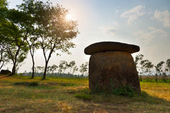 Plain of jars, Laos Royalty Free Stock Photography