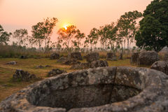 Plain of jars, Laos Royalty Free Stock Photos