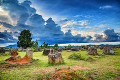 Plain of Jars. Stock Image