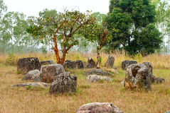 Plain of Jars, Phonsavan, Laos. Royalty Free Stock Photography