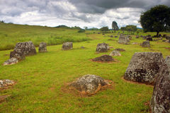 Plain of Jars Stock Photos