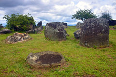 Plain of Jars Royalty Free Stock Photography