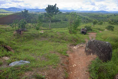 Plain of Jars Royalty Free Stock Photos