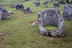 Plain of Jars Royalty Free Stock Images
