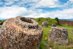 Plain of Jars,  Xieng Khuang province, Laos. Stock Image