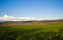 Plain landscape Royalty Free Stock Image