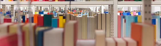 Plain library background. A plain colorful library background stock photo