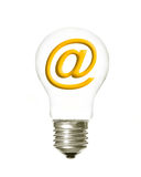 Plain light email Stock Images