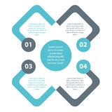 Plain minimal simple infographics vector EPS10 Stock Photo