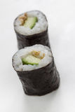 Plain  mixed sushi rolls. Some plain  mixed sushi rolls Royalty Free Stock Photos