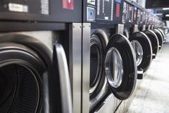 Plain modern Washing machines. Some plain modern Washing machines Royalty Free Stock Photo