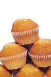 Plain muffins Stock Photos