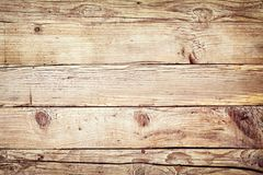 Plain Natural Wood Panel Background Texture Royalty Free Stock Photography