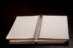 Plain notebook Stock Photo