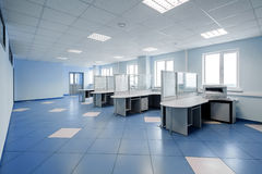 Plain office space interior Stock Image