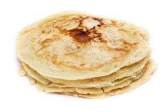 Plain pancakes Stock Image