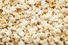 Plain popcorn background Stock Photography