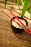 Plain rice Stock Image