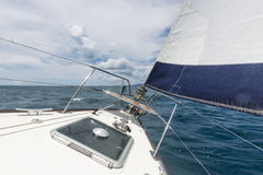 Plain sailing Stock Image