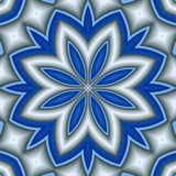 Plain and simple star flower Stock Photo