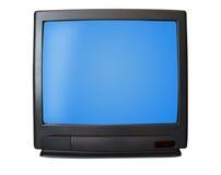 Plain simple TV Stock Photography