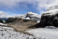 Plain Of The Six Glaciers Banff National Park Stock Photo