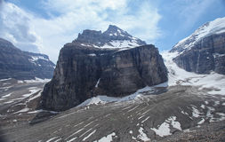 The Plain of Six Glaciers in Canada Royalty Free Stock Image