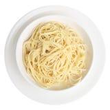 Plain Spaghetti Stock Image