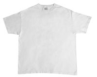 Plain t-shirt Royalty Free Stock Photo