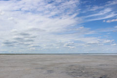 Plain. Therapeutic mud about salt (Dead) Lake in the Omsk region - Ebeyty Royalty Free Stock Photography