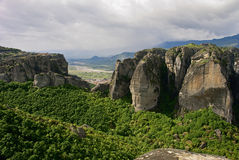 The Plain of Thessaly Stock Images