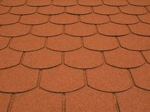 Plain tile shingle Royalty Free Stock Photo