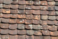 Plain tiles Royalty Free Stock Photos