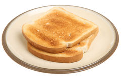 Plain Toast Royalty Free Stock Image