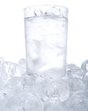 Plain Water With Ice Cubes IV Stock Photography