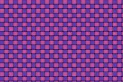 Plain weave. Purple and pink color plain weave texture Stock Illustration