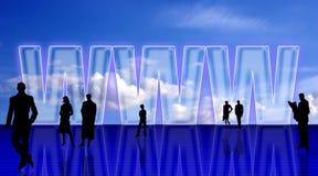 Plain WEB simbolic background vector illustration