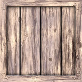 Plain Wood Crate Royalty Free Stock Photos