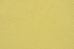 Plain Yellow Fabric Texture Royalty Free Stock Image