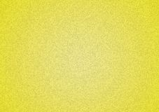 Plain yellow textured background with gradient. For wallpaper, image or text layering royalty free stock photography