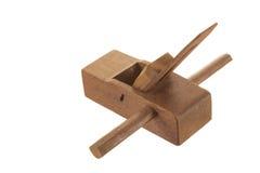 Plaina de madeira Foto de Stock