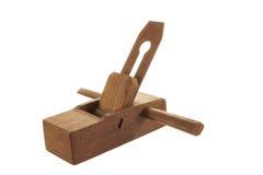 Plaina de madeira Fotografia de Stock