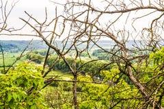 Plaine de rivière de vallée photo libre de droits