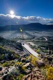 Plaine des Sable landscape Stock Images