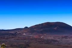Plaine des Sables, Piton de la Fournaise, Reunion Island. Plaine des Sables, Piton de la Fournaise at Reunion Island Stock Photo