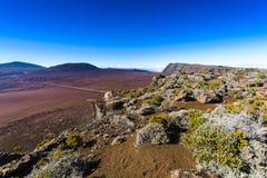 Plaine des Sables, Piton de la Fournaise, Reunion Island. Plaine des Sables, Piton de la Fournaise at Reunion Island Stock Photography